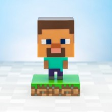 Minecraft Steve Icon Lampa