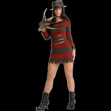 Miss Freddy Krueger Maskeraddräkt