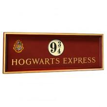 Harry Potter Skylt Plattform 9 3/4