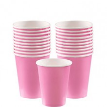 Pappersmugg Rosa 20-pack