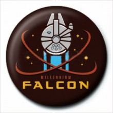 Star Wars Badge Millennium Falcon