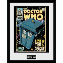Doctor Who Inramad Poster Tardis