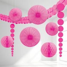 Rosa Dekoration Kit