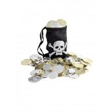 Påse Med Mynt Pirat