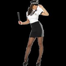 Sexig polis-dräkt dam