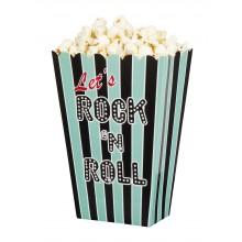 Popcornskål Rock 50-tal 4-pack