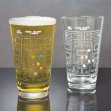 Färgskiftande Glas Pac-Man