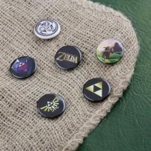 Zelda Badges 6 pack