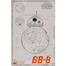 Star Wars BB-8 Poster