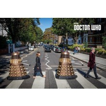 Dr Who Canvas Abbey Road