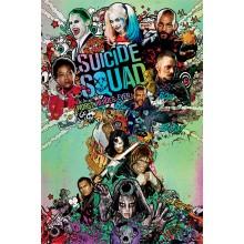 Suicide Squad Poster Nuke 60 x 80 cm