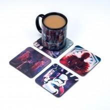 Star Wars Lentikulära Drinkunderlägg The Last Jedi 4-pack