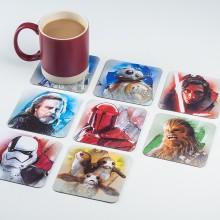Star Wars Drinkunderlägg The Last Jedi 8-pack