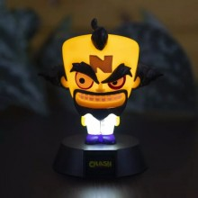 Crash Bandicoot Doctor Neo Cortex 3D Lampa