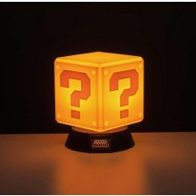 Super Mario Question Block 3D Lampa