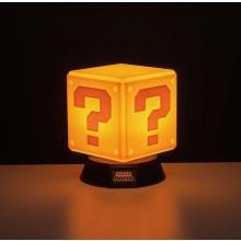 Super Mario Question Block 3D Lampa