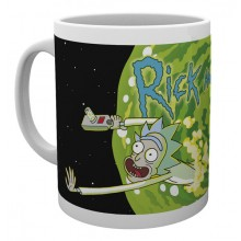 Rick And Morty Mugg Logo