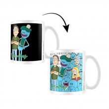 Rick And Morty Värmekänslig Mugg Jerry & Mr Meeseeks