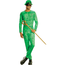 DC Comics The Riddler Maskeraddräkt