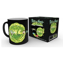 Rick And Morty Portal Värmekänslig Mugg