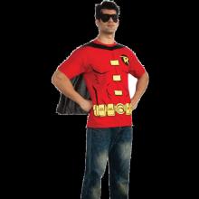 Robin T-Shirt Maskeraddräkt (Herr)