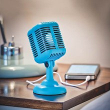 Högtalare Rockabilly Mikrofon