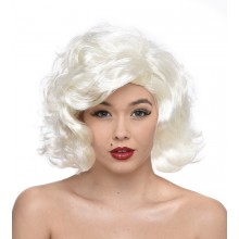 Rockabilly Peruk Blond