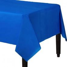 Bordsduk Blå Plast