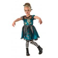 Frankenstein Klänning Maskeraddräkt Barn