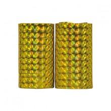 Serpentiner Holografiska Guld 2-pack