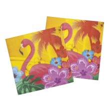 Servetter Flamingo 12-pack