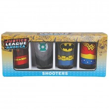 DC Comics Justice League Shotglas