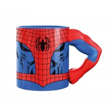 Marvel Mugg Med 3D-Arm Spiderman