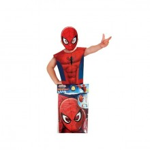 Spiderman Party Pack Maskeraddräkt Barn