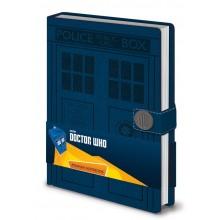 Dr Who Anteckningsbok A5 Inbunden Tardis