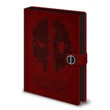 Deadpool Anteckningsbok Splat