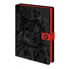 Star Wars Anteckningsbok Darth Vader Art