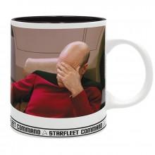 Star Trek Mugg Facepalm