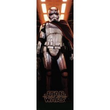 Star Wars the Force Awakens Captain Phasma Poster