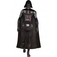 Morphsuit Darth Vader Vuxen