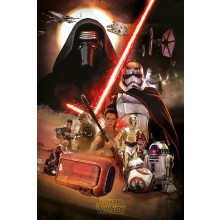 Star Wars the Force Awakens Jakku Poster