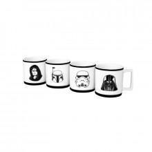 Star Wars Espressomuggar 4-pack