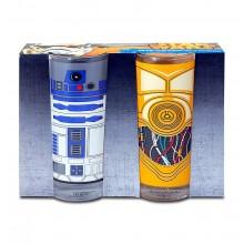 Star Wars Glas C-3PO & R2-D2