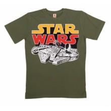 Millennium Falcon T-Shirt Ekologisk Bomull
