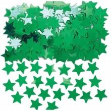 Konfetti Stjärnor Gröna