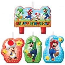 Ljus Super Mario 4-pack
