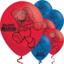 Ballong Super Mario 6-pack
