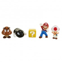 Nintendo Super Mario Figurer 5-pack