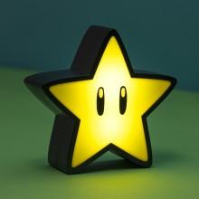 Super Mario Lampa Med Ljud Stjärna