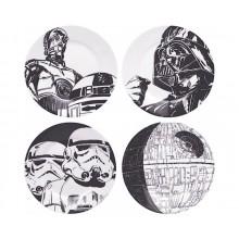Star Wars Tallrikar 4-pack